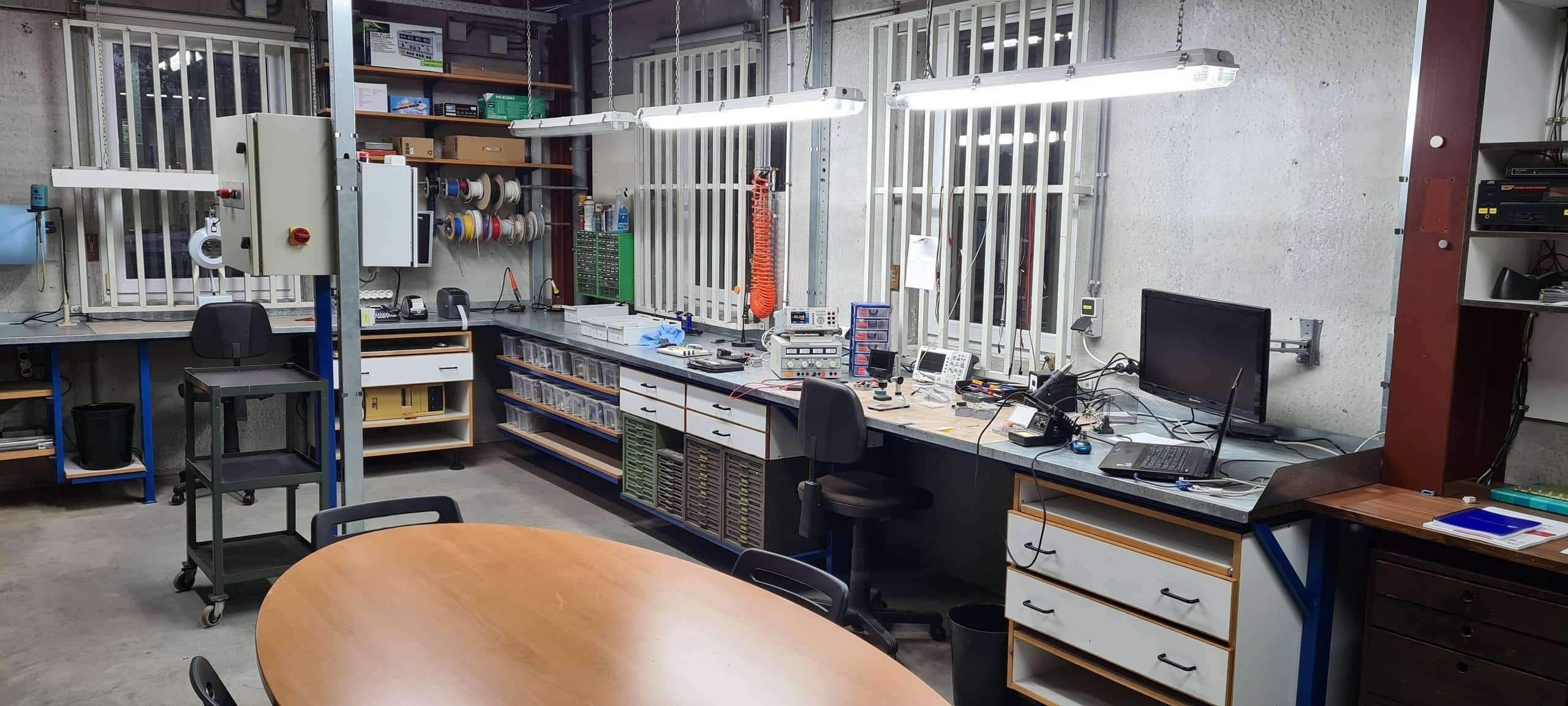 Labo électronique
